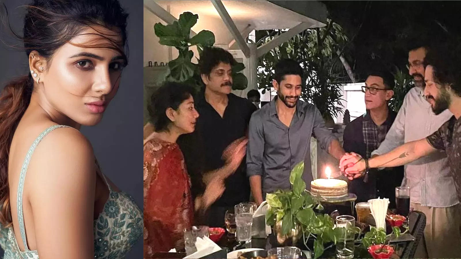 amid-divorce-rumours-samantha-prabhu-misses-father-in-law-nagarjuna-and-naga-chaitanyas-dinner-party-for-aamir-khan