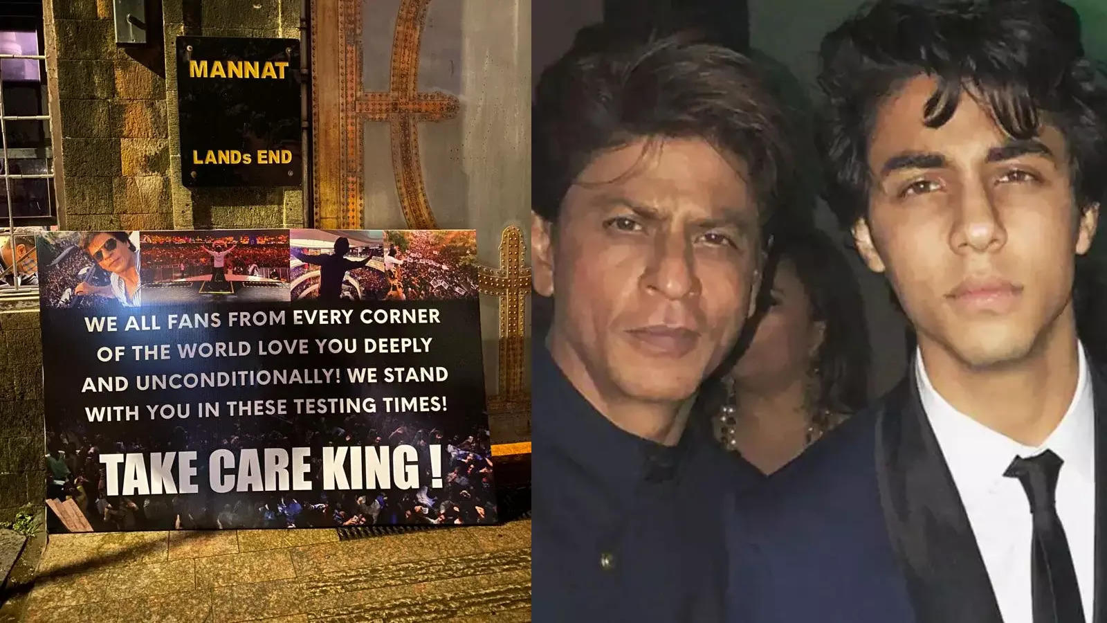 dukungan untuk Shah Rukh Khan dan Aryan Khan