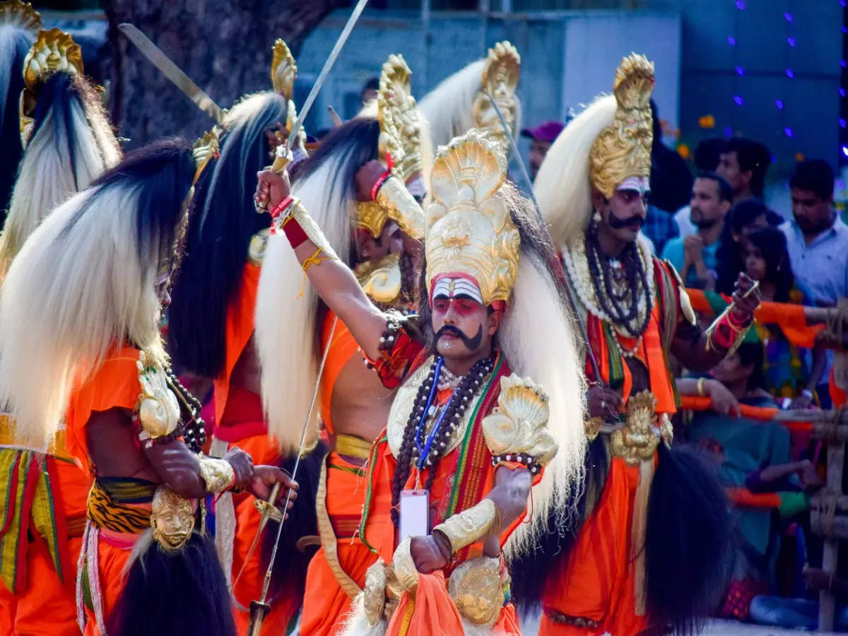 Where to witness grand Dussehra celebrations in India?