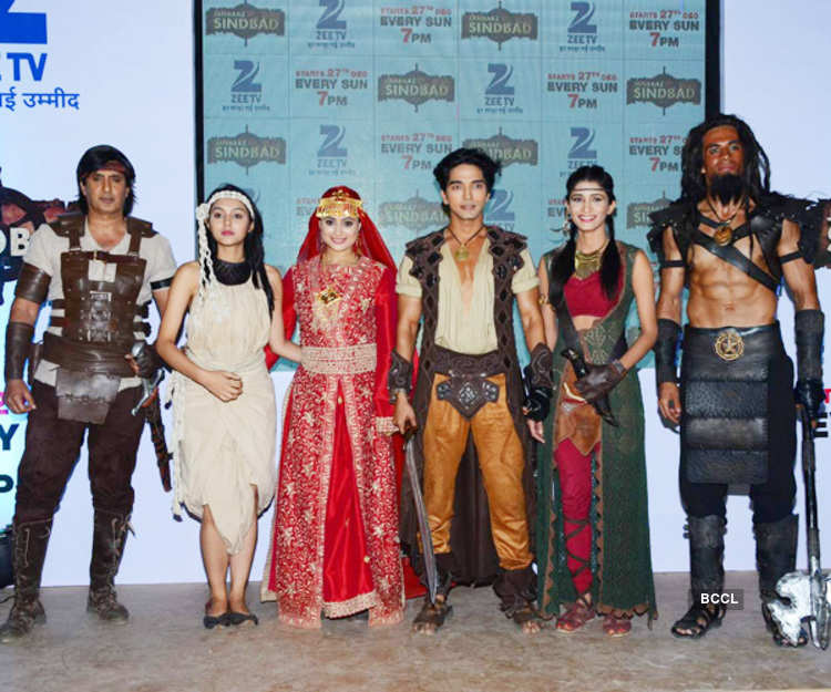 Celebs during the launch of Zee TV's new show Janbaaz Sindbad in Mumbai on December 16, 2015 - Photogallery