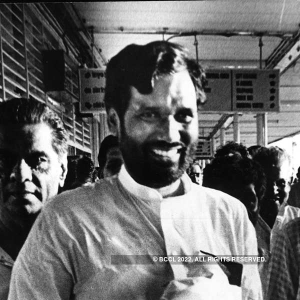 Rare pictures of late Union Minister Ram Vilas Paswan Photogallery - ETimes