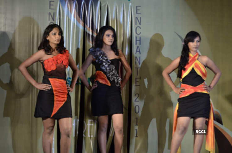 Student Of The Sasmira College Walks The Ramp During Its Annual Fashion Show Held At Worli In Mumbai Photogallery