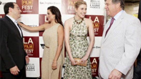 Penelope Cruz, Woody Allen at premiere of 'To Rome with Love'