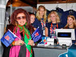 Shahnaz Husain at the Olympics