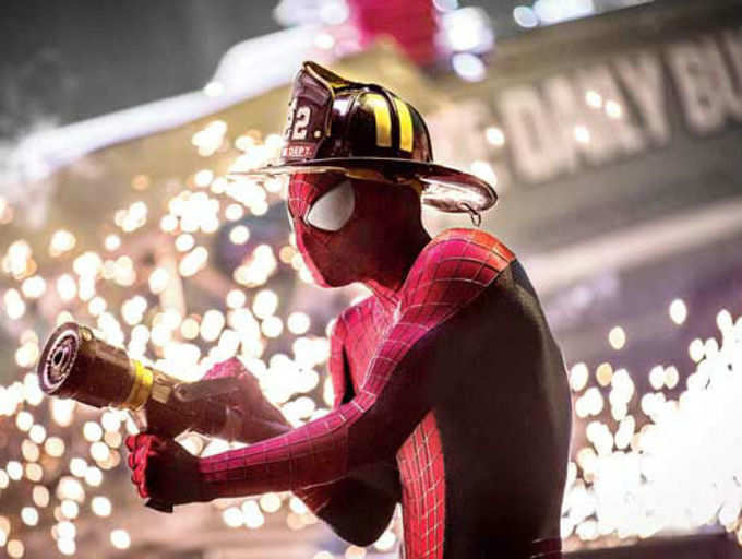 An Exclusive peek at The Amazing Spider-Man 2