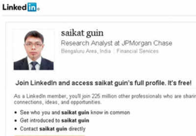 Saikat is not our employee, say JP Morgan officials