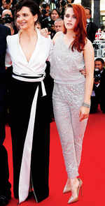 Cannes Watch - Kristen Stewart and Juliette Binoche