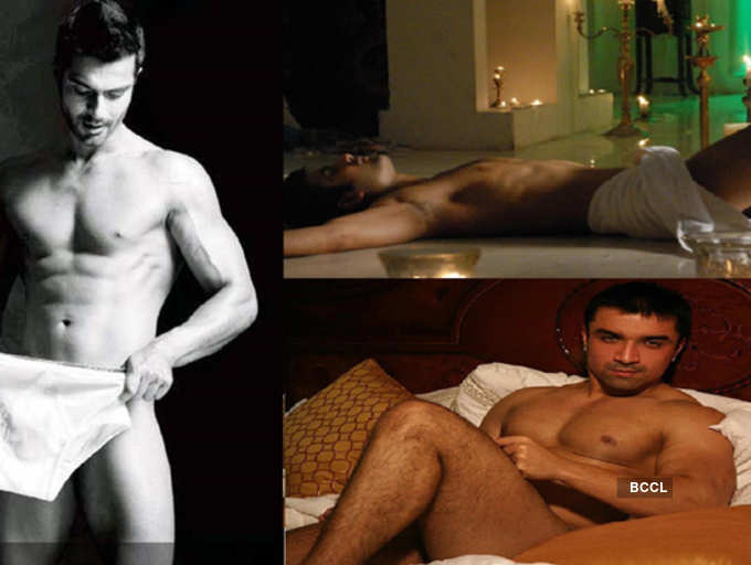 Men indian semi nude Naked Male