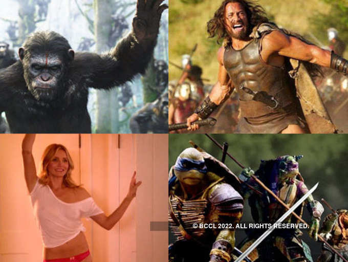 Hollywood films to watch out for in 2014 second half