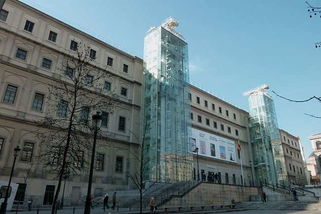 Museo Nacional Centro De Arte Reina Sofia Madrid Get The Detail