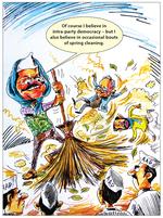 Kejriwal and party democracy