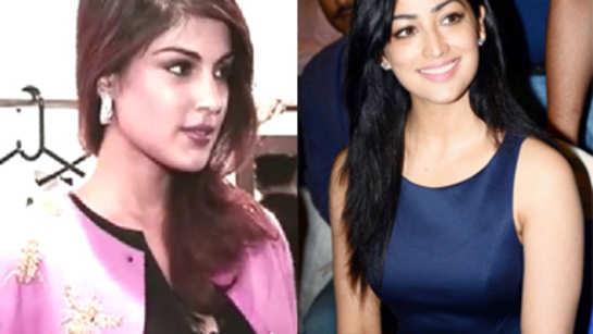 Spotted: Yami Gautam, Rhea Chakraborty at a store launch
