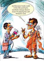 Rahul's soft Hindutva card