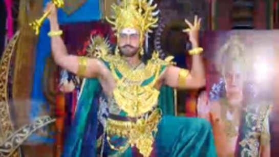 Aarya Babbar as Ravan in 'Mahabali Hanuman'