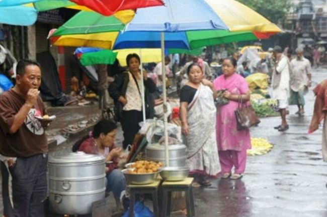 Chinese Breakfast at Tiretti Bazaar
