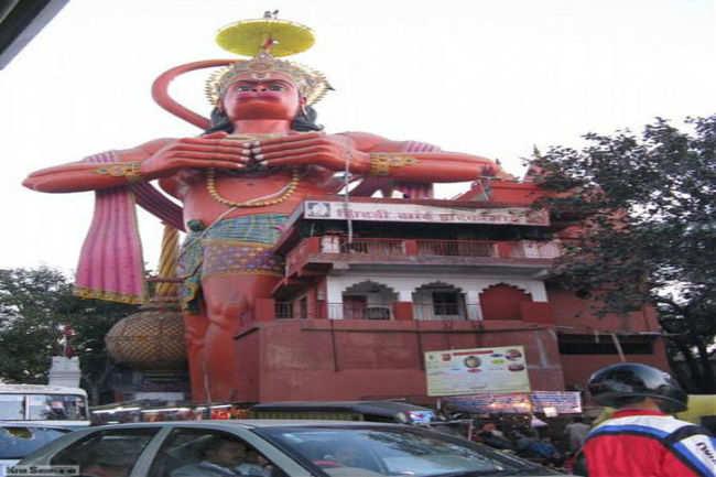 Hanuman Mandir, Jhandewalan