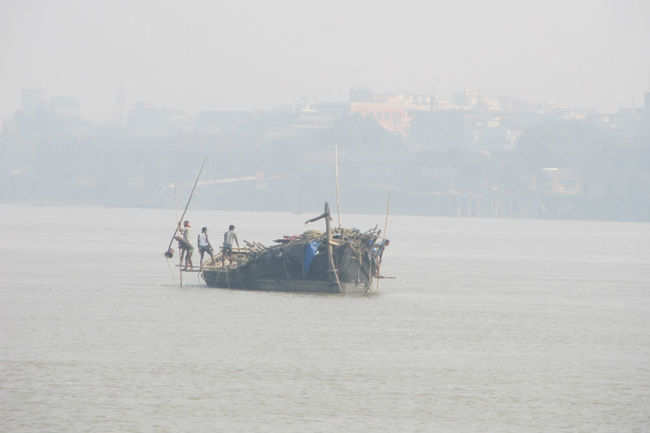 Boating at Hooghly River