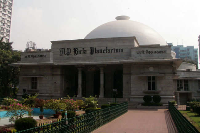 Star gazing at the Birla Planetarium