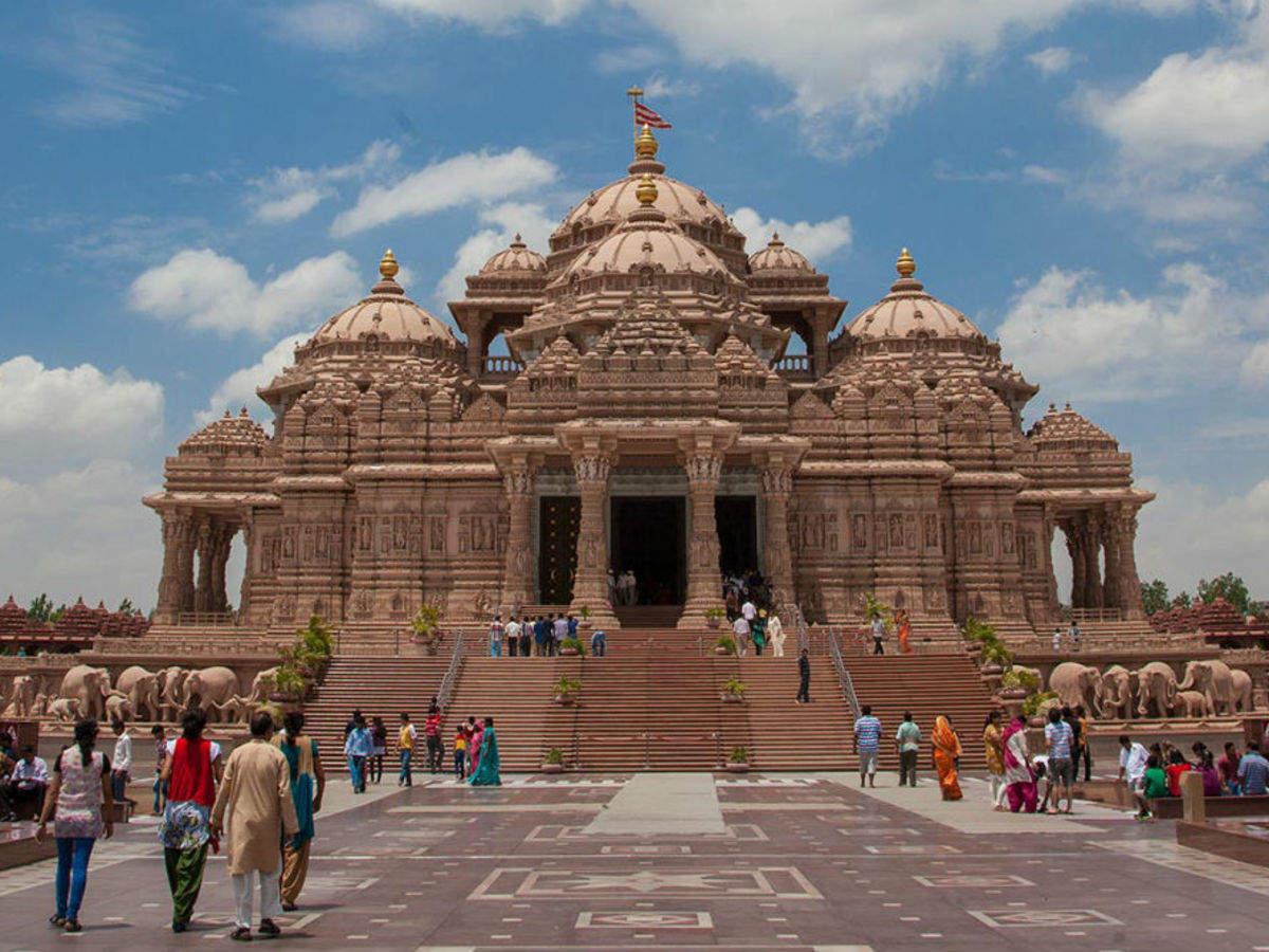 Akshardham Temple, Delhi - Times of India Travel
