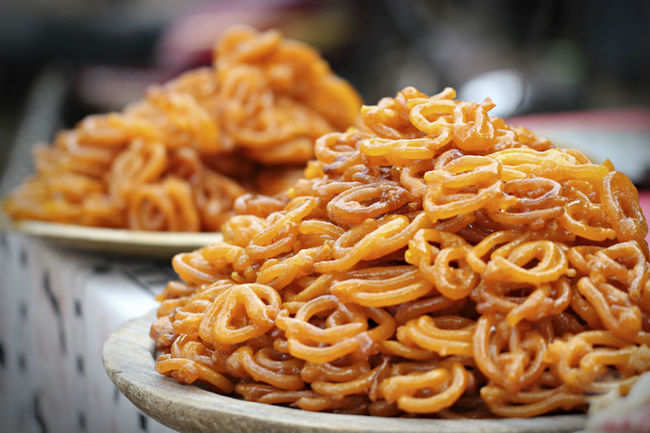 Jalebi (locally known as Jilipi)