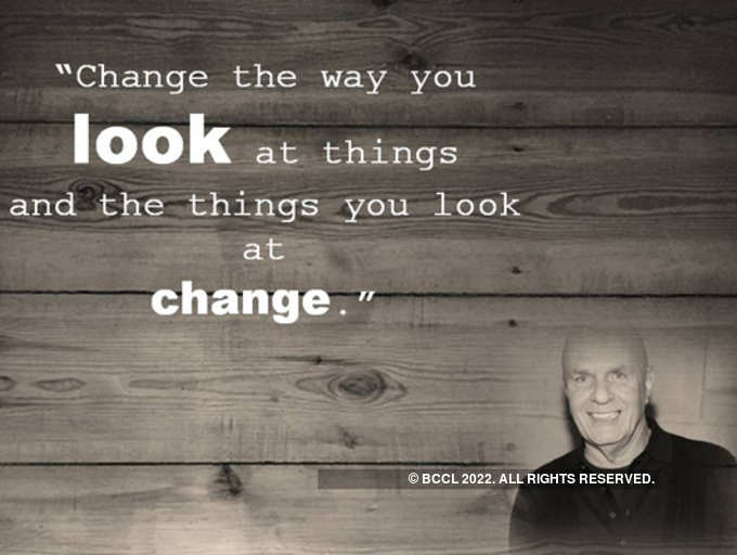 7 Life Changing Quotes By Wayne Dyer The Times Of India