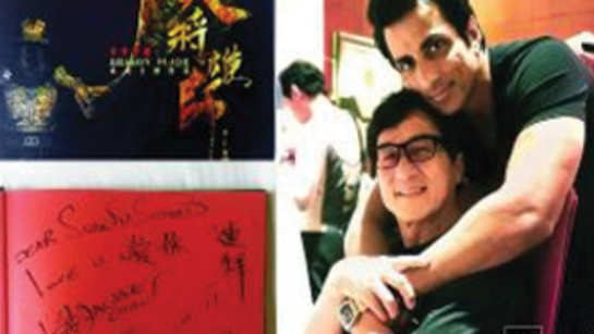 Jackie Chan promises to teach Sonu Sood Chinese