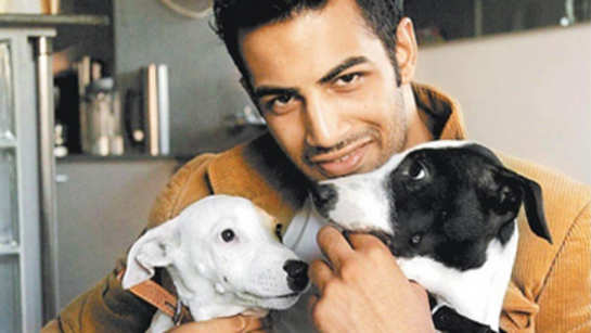 Upen Patel's infinite love for his dogs