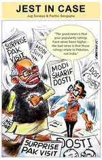 Modi's surprise Pak visit