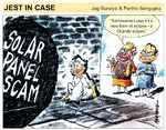 Solar panel scam