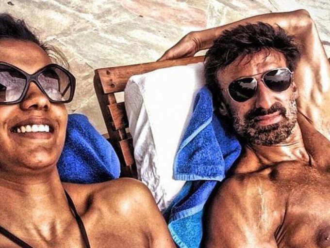 Rahul Dev and Mugdha Godse living together