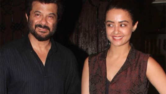 Anil Kapoor hosts party for Anupam Kher, Surveen Chawla