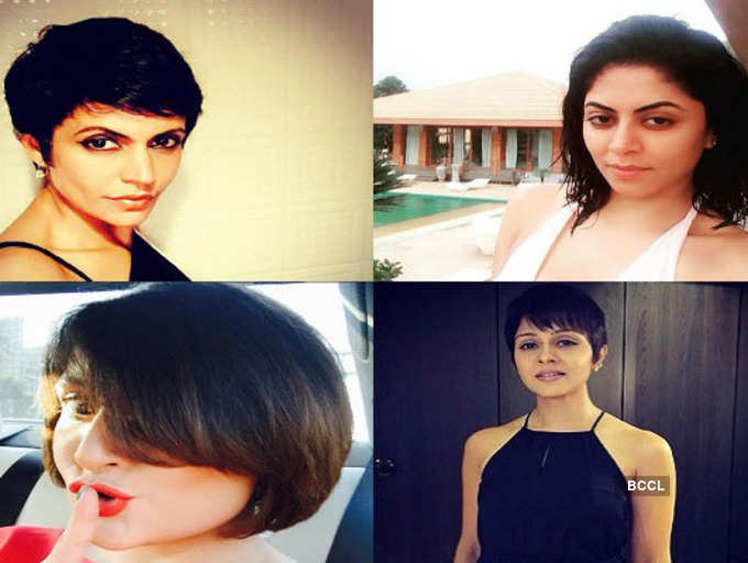 Tv Actresses Who Can Totally Carry Off A Short Haircut The Times Of India