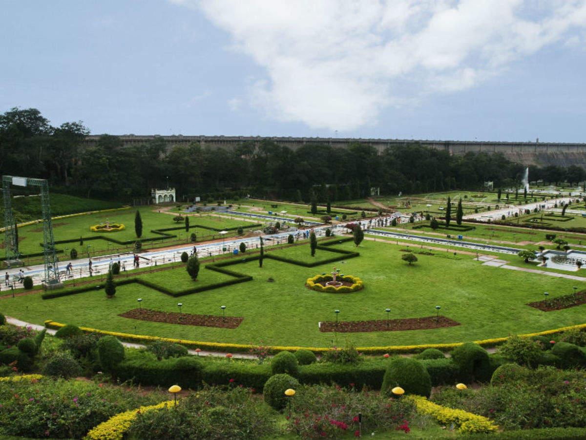 Brindavan Gardens, Mysore - Times of India Travel