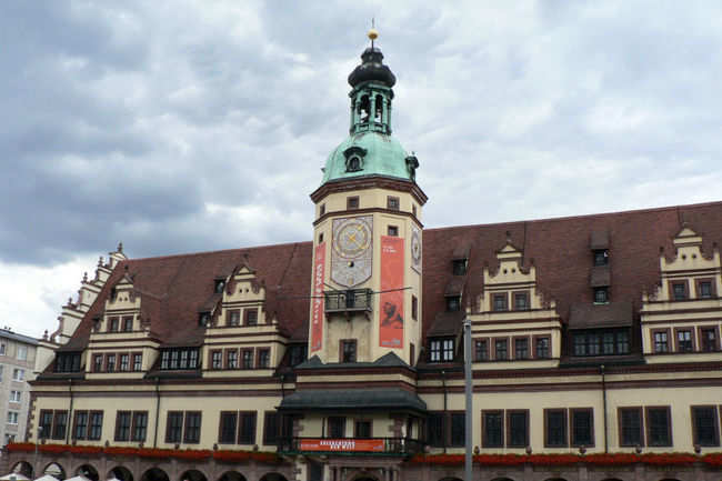 Old Town Hall And Market Square In Leipzig Times Of India Travel
