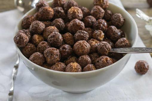 Chocolate Cornflakes Balls