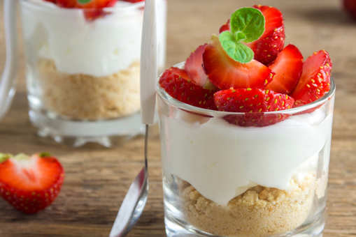 Strawberry Champagne Trifle