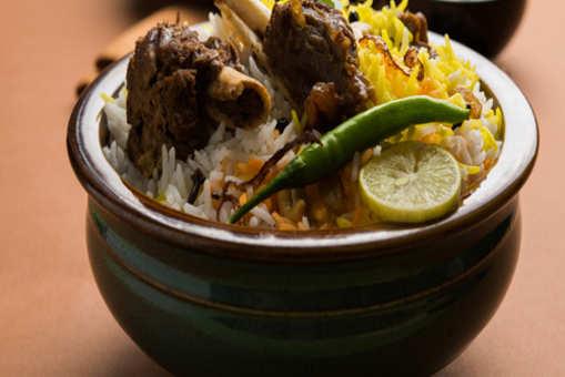 Hyderabadi Mutton Biryani