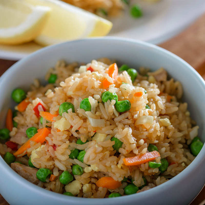 Fried Rice Recipe Chinese Style Fried Rice How To Make Fried Rice