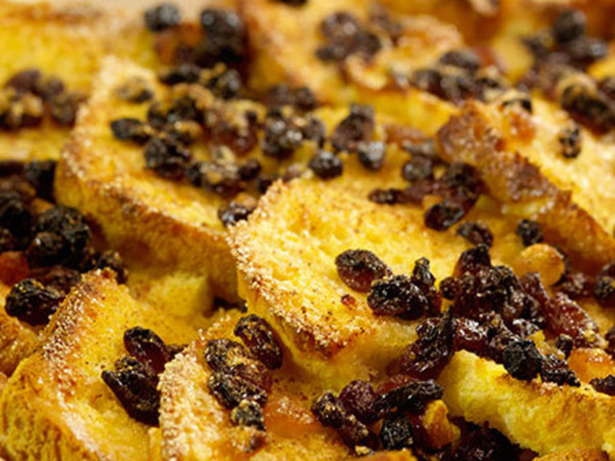 Egg and Bread Pudding recipe by Amrita Raichand on Times Food