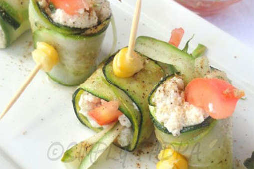 Zucchini And Cheese Mop
