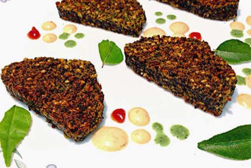 Kothimbir Vadi (Coriander Leaves Fritters)