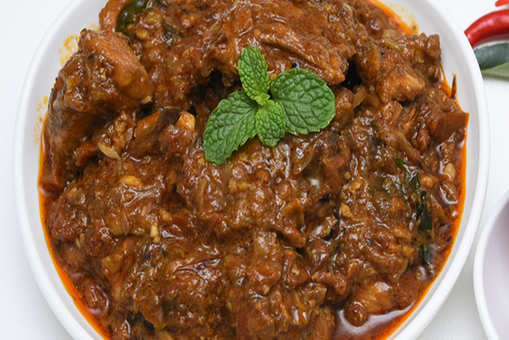Dhaba-style Spicy Chicken