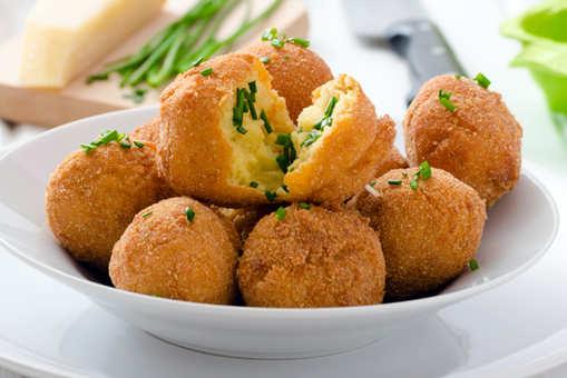 Parmesan Cheese Potato Balls