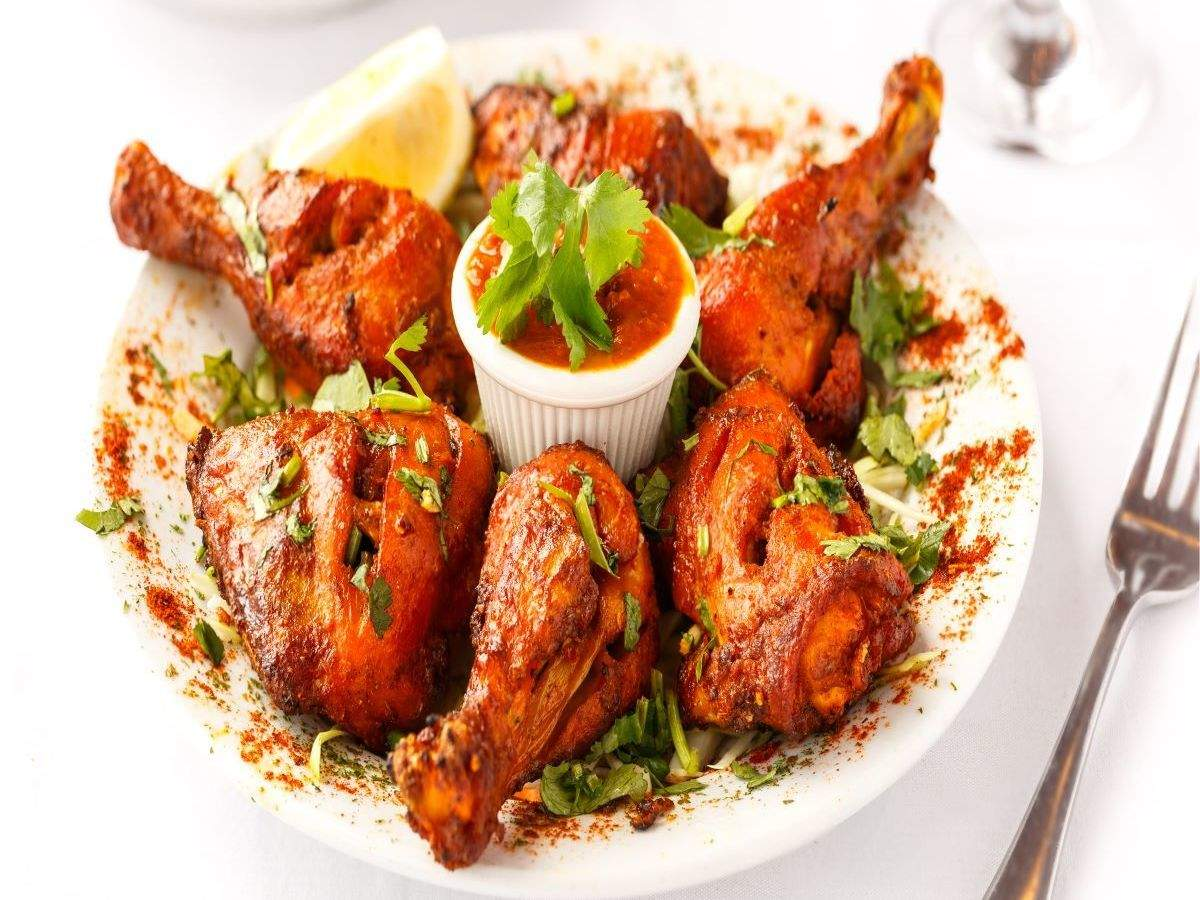 Tandoori Chicken Recipe How To Make Tandoori Chicken Recipe At Home Homemade Tandoori Chicken Recipe Times Food
