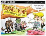Trump look-alike contest