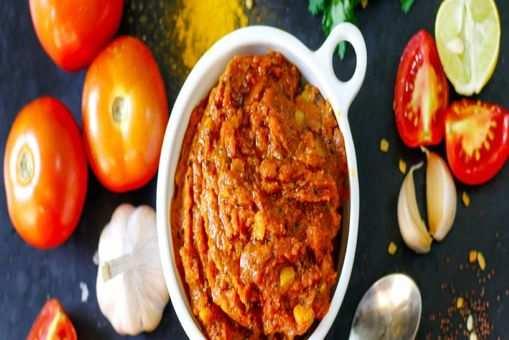 Tomato Garlic Spicy Chutney