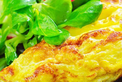 Schezwan Cheese Omelette
