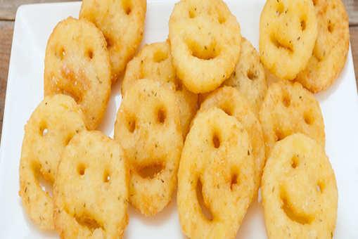 Homemade Potato Smiley