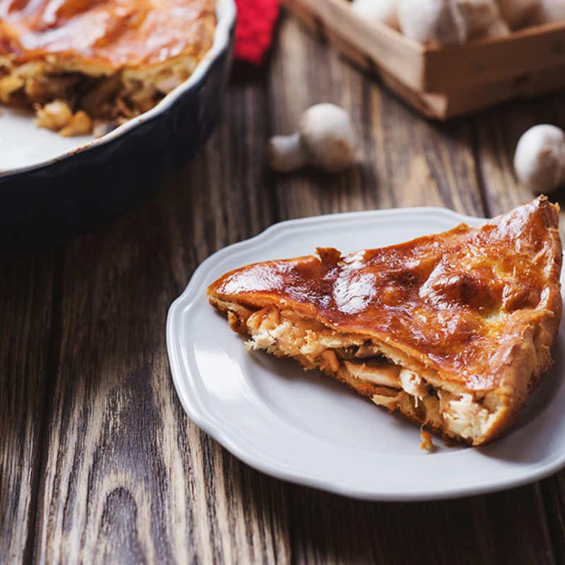 Healthy Chicken Pie Recipe How To Make Healthy Chicken Pie Recipe Homemade Healthy Chicken Pie Recipe