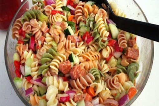 Tricolour Pasta Salad